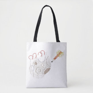 Moonpad and Pen No Background Tote Bag