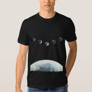 Moonphase 5 Earth in Space Shirt