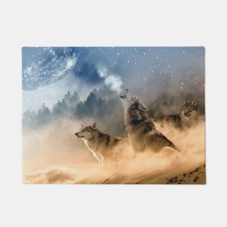 Moonrise Howl Doormat