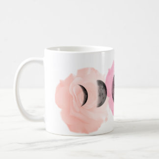 Moons and Roses Coffee Mug
