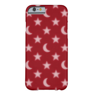 Moons and stars pattern barely there iPhone 6 case