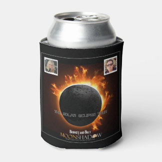 Moonshadow - Solar Eclipse Tour Logo Can Coolers Can Cooler