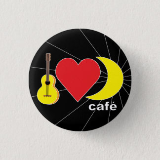 Moonshine Cafe 1 Inch Round Button