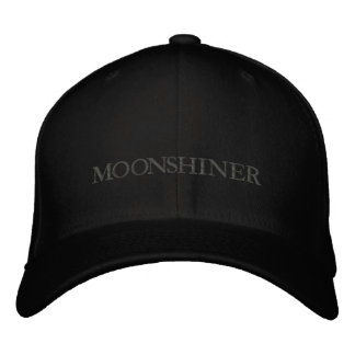 MOONSHINE EMBROIDERED HAT