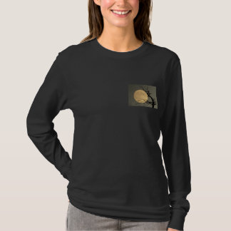 Moonshine - full moon & tree collage T-Shirt