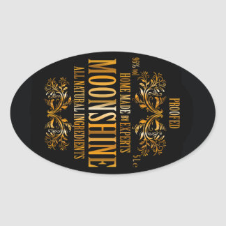 Moonshine label