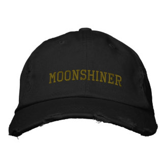 MOONSHINER EMBROIDERED HAT