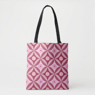 Moonstone Rose and Cherry Flower in the Barn Door Tote Bag