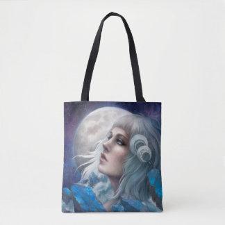 Moonstone Tide Tote Bag