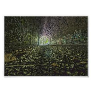 Moonville Tunnel, Ohio Art Photo