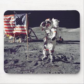 Moonwalk Apollo 17 Mouse Pad