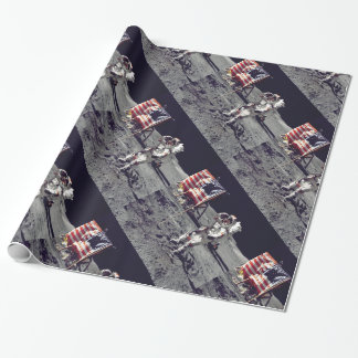 Moonwalk Apollo 17 Wrapping Paper