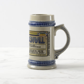 Moonwill Character Stein 18 Oz Beer Stein