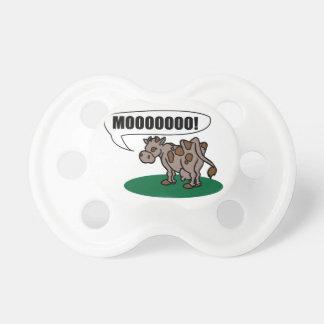 Moooooo Baby Pacifier