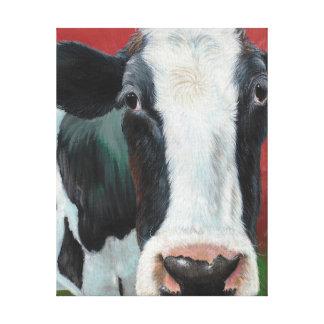Mooooooo Cow! Canvas Print