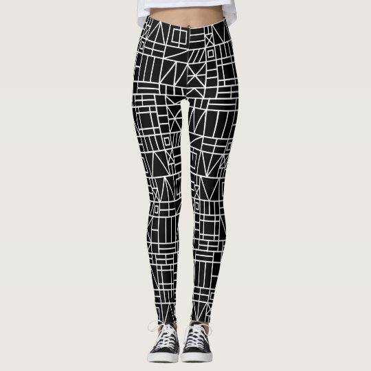 MOOR leggings design line pattern