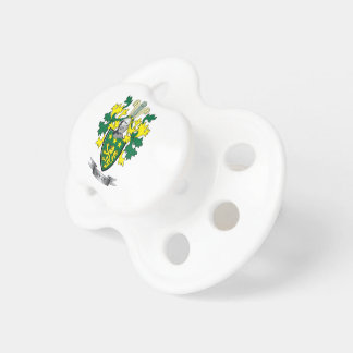 Moore Coat of Arms Pacifier