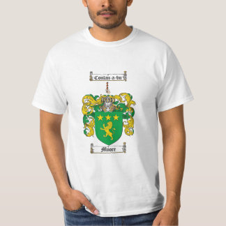 Moore Family Crest - Moore Coat of Arms T-Shirt
