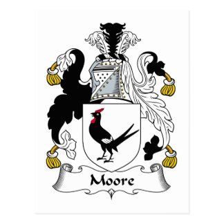 Moore Family Crest Post Card