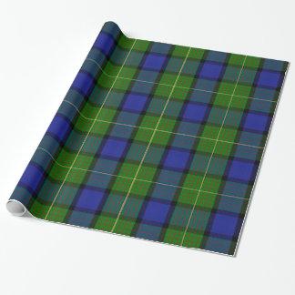 Moore/Muir Tartan Wrapping Paper