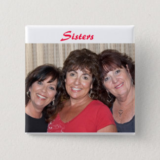 Moore Sisters 2 Inch Square Button