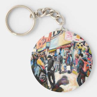 moore street dublin beach balls keychain