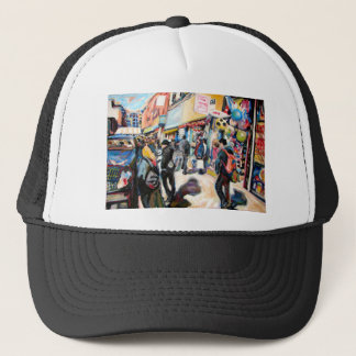 moore street dublin beach balls trucker hat