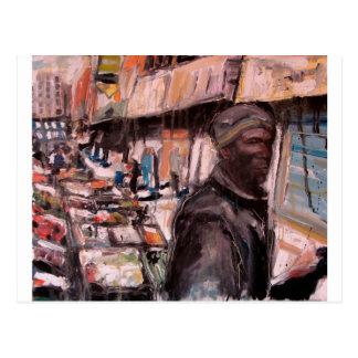 moore street dublin shopper postcard