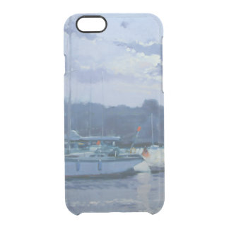 Moored yachts late afternoon clear iPhone 6/6S case