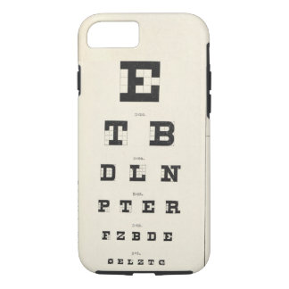 Moorfields Eye Chart iPhone 8/7 Case