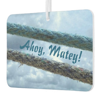 Mooring Lines Ahoy Matey Air Freshener