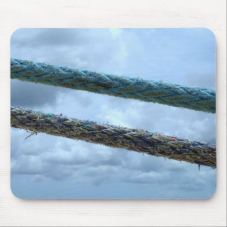 Mooring Lines Mouse Pad