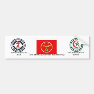 Moorish American National Bumper Sticker