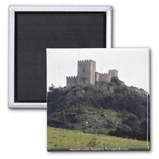 Moorish castle, Sesimbra, Portugal Europe Magnet