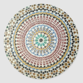 Moorish Mosaic Sticker