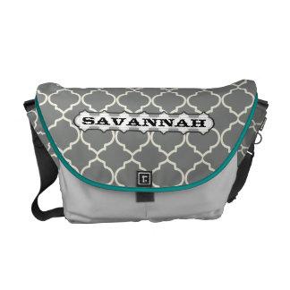 Moorish Pattern You Choose Colors Commuter Bag