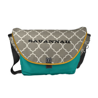 Moorish Pattern You Choose Colors Messenger Bags
