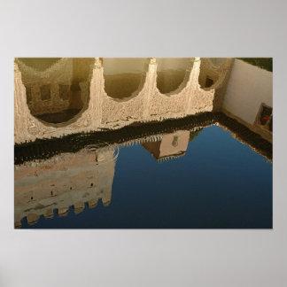 Moorish Reflections Poster