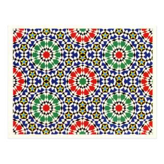 Moorish tile postcards