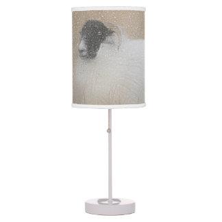 Moorland sheep table lamp