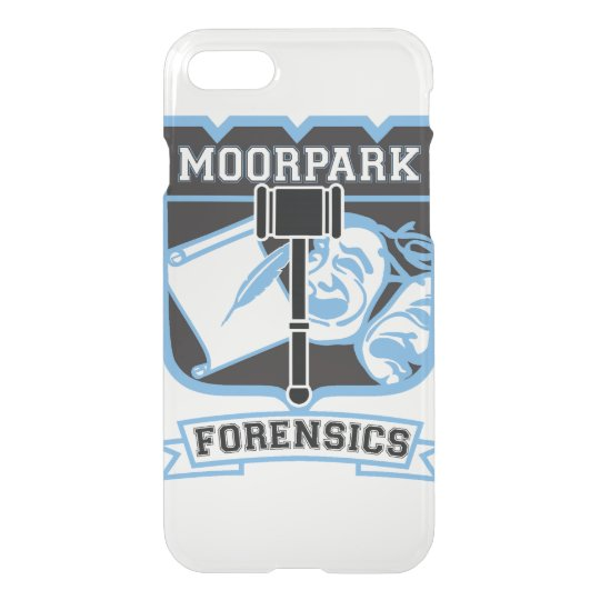 Moorpark Forensics iPhone 7 Clear Case