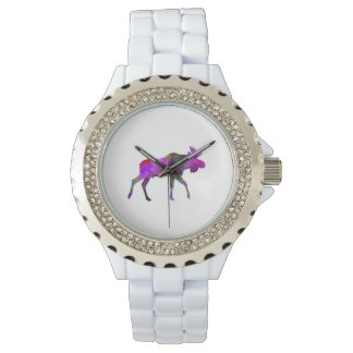 Moose 01 in watercolor watches