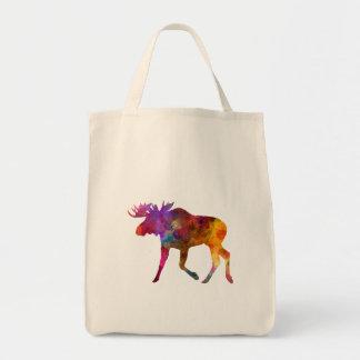 Moose 02 in watercolor