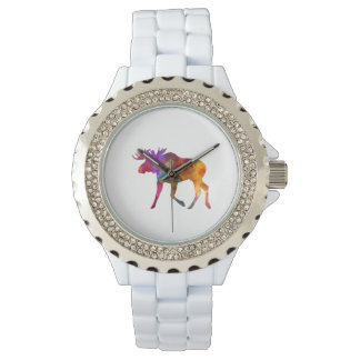 Moose 02 in watercolor watches