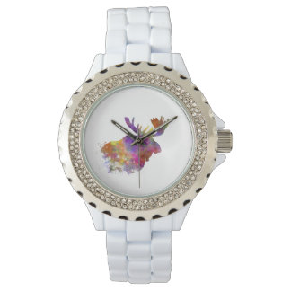 Moose 04 in watercolor watches