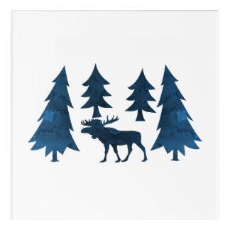 Moose Acrylic Wall Art