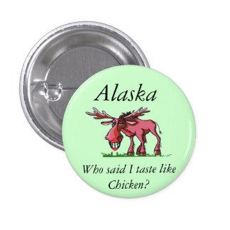 Moose Alaska Pinback Buttons