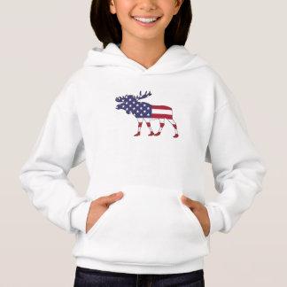 "Moose ""American Flag"""