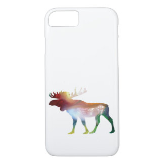 Moose Art iPhone 7 Case