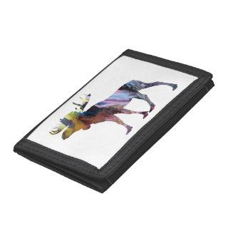 Moose Art Tri-fold Wallets